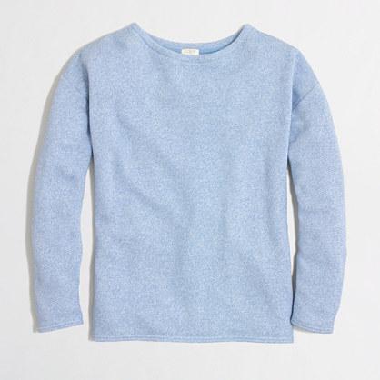 Factory textured sweatshirt