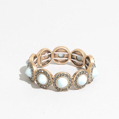 Factory gemstone cones bracelet