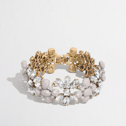 Factory floral band bracelet