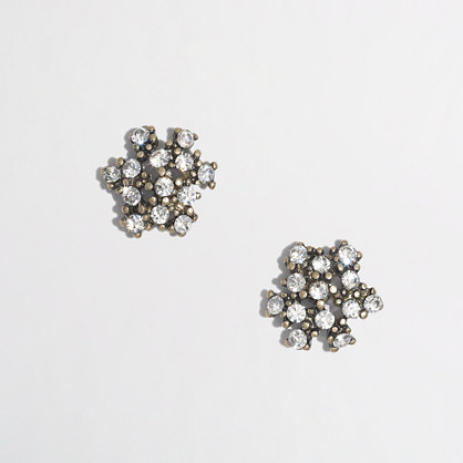Factory cluster earrings