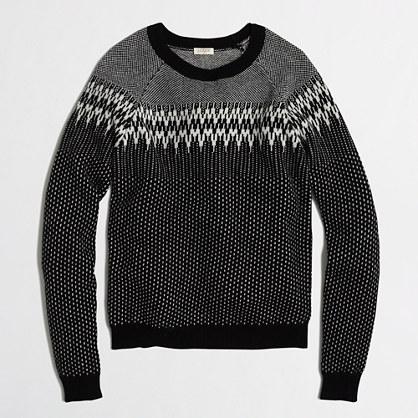 Factory Fair Isle sweater