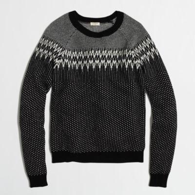 Factory Fair Isle sweater : FactoryWomen Pullovers | Factory