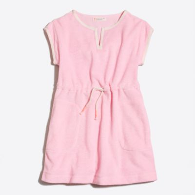Girls' terry beach dress factorygirls dresses c