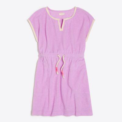 Girls' terry beach dress factorygirls dresses c