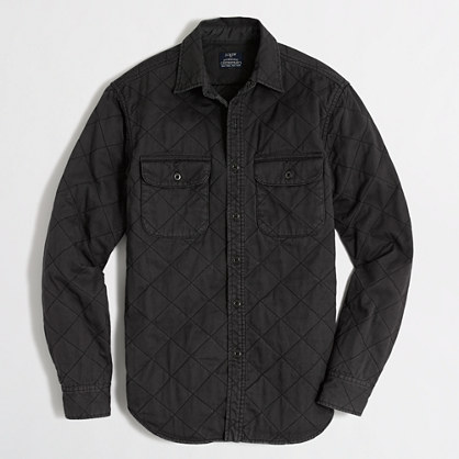 Factory quilted shirt-jacket : Winter-Ready Styles for Men | J ...