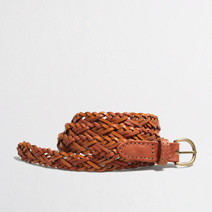 Factory double braided belt