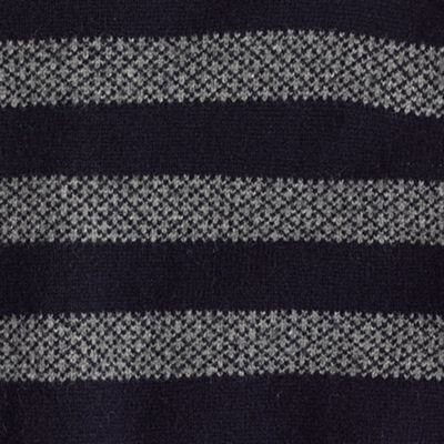 Factory lambswool fair isle stripe sweater : | Factory