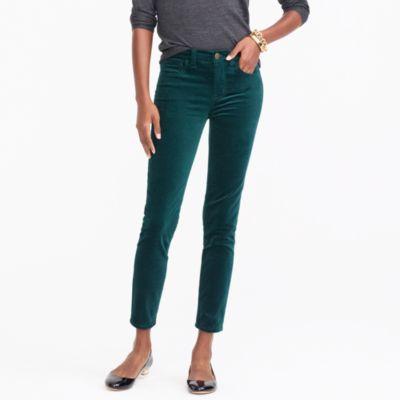 Midrise skinny jean in velvet factorywomen online exclusives c