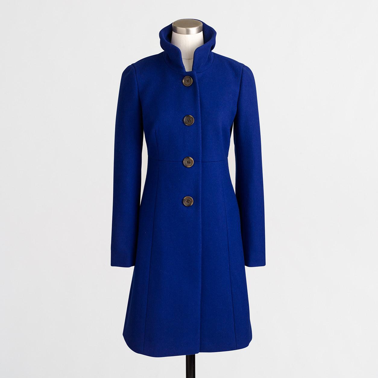 Petite uptown dress coat : Petites | J.Crew Factory