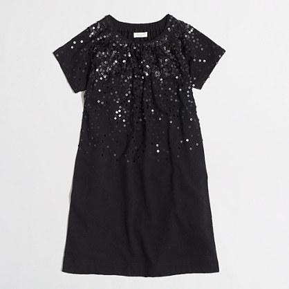 Factory girls' sequin dress