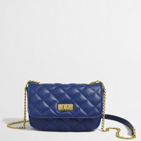 Factory quilted mini purse