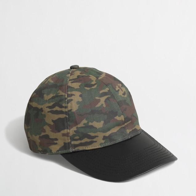 Factory camo baseball cap