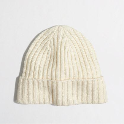 Factory marled cable hat