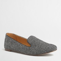 Factory Addie herringbone loafers