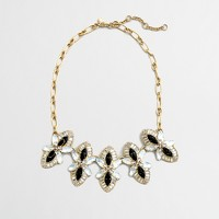 Factory shimmering flowers necklace