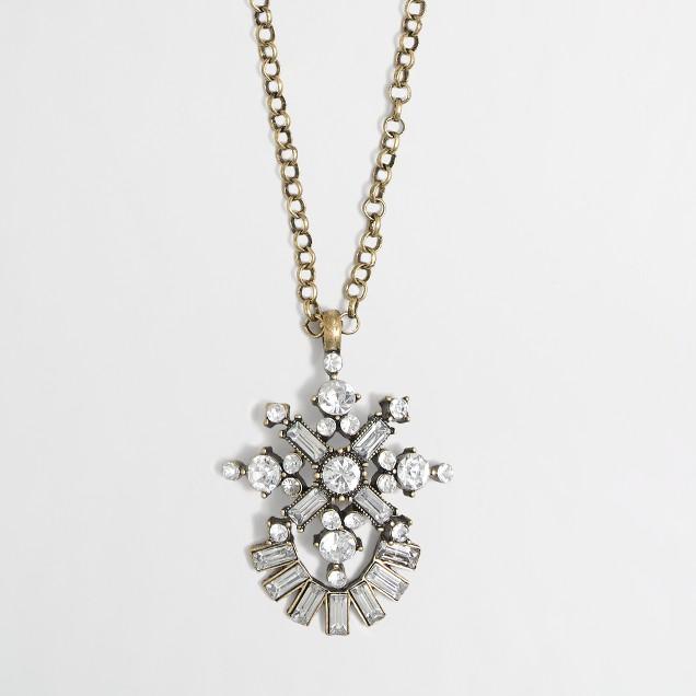 Factory trapeze necklace