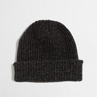 Factory knit hat