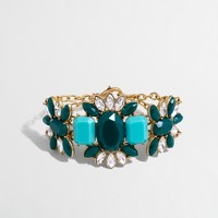 Factory stone centerpiece bracelet