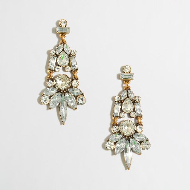 Factory droplet earrings