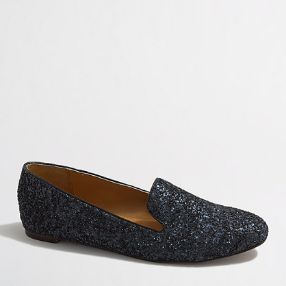 Factory Addie glitter loafers
