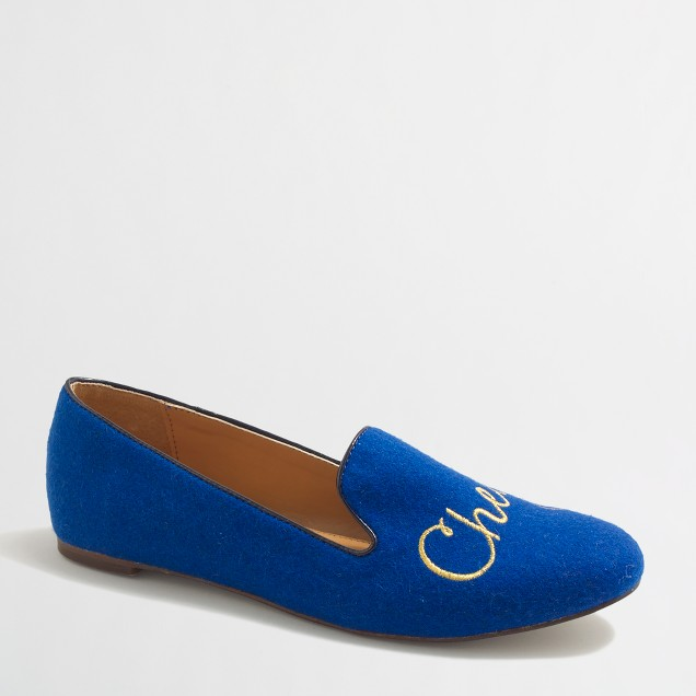 Factory cheers loafers