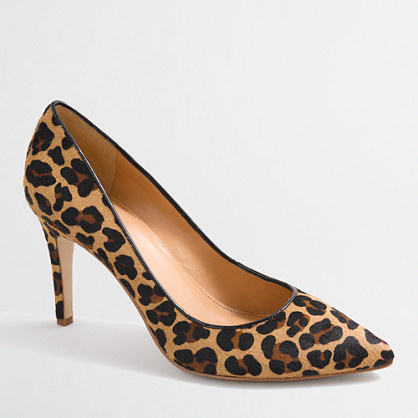 Factory Isabelle calf hair pumps : Heels | J.Crew Factory