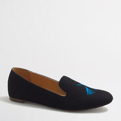 Factory Addie critter loafers