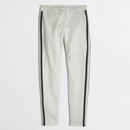 Factory colorblock stripe sweatpant