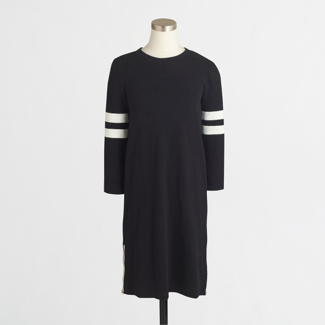 Factory side-zip sporty dress