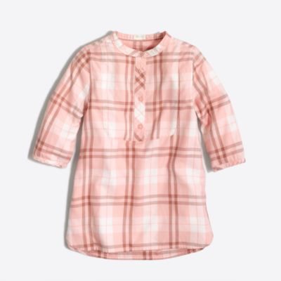 Girls' flannel tunic   search