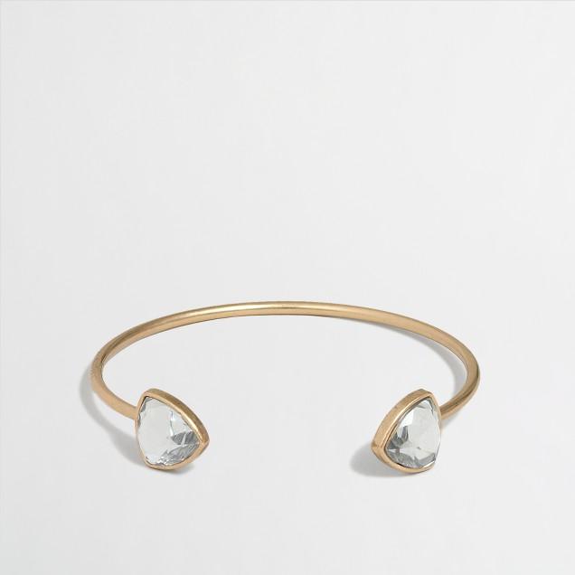 Factory crest stone cuff bracelet