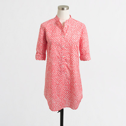 Factory printed tunic