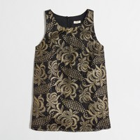 Factory embroidered tank