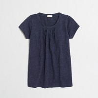 Girls' pleated t-SHIRT
