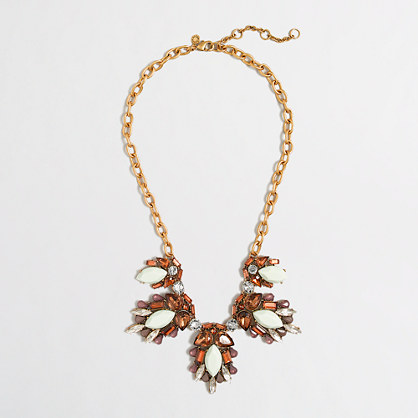 Factory seed clusters necklace