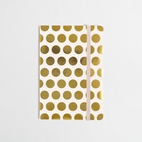Factory printed notebook