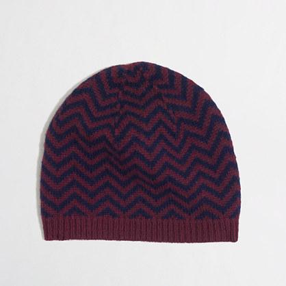 Factory chevron stripe hat