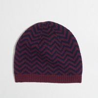 Factory chevron stripe hat