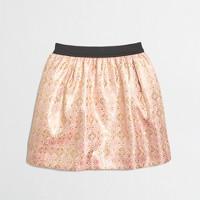 Factory girls' jacquard skirt