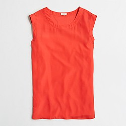 Factory drapey sleeveless top