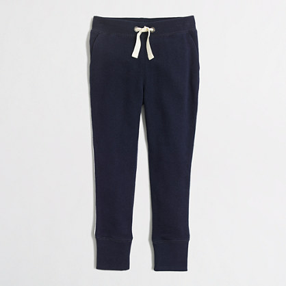 Girls' tipped sweatpant