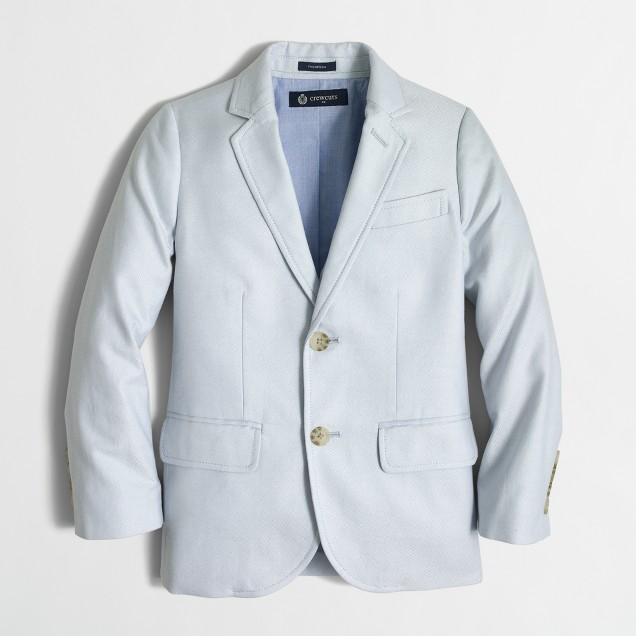 Boys' Thompson suit jacket in oxford