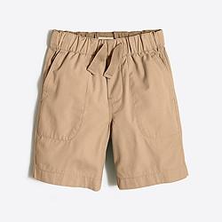 Boys' pull-on lightweight chino short