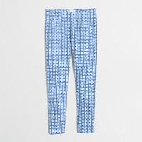 Girls' square dot leggings