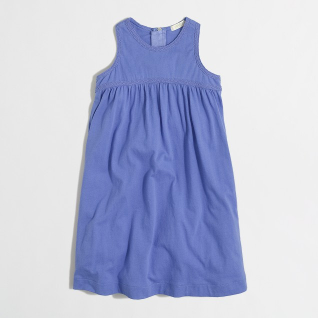 Girls' swing dress