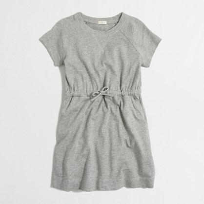 Girls' drawstring dress