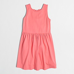 factory girls' double-bowback dress