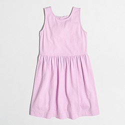 Girls' double-bowback dress