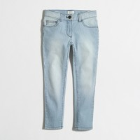 Girls' railroad-stripe skinny jean