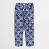Girls' printed pull-on pant